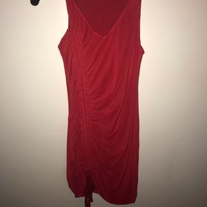 Red tank top dress size small
